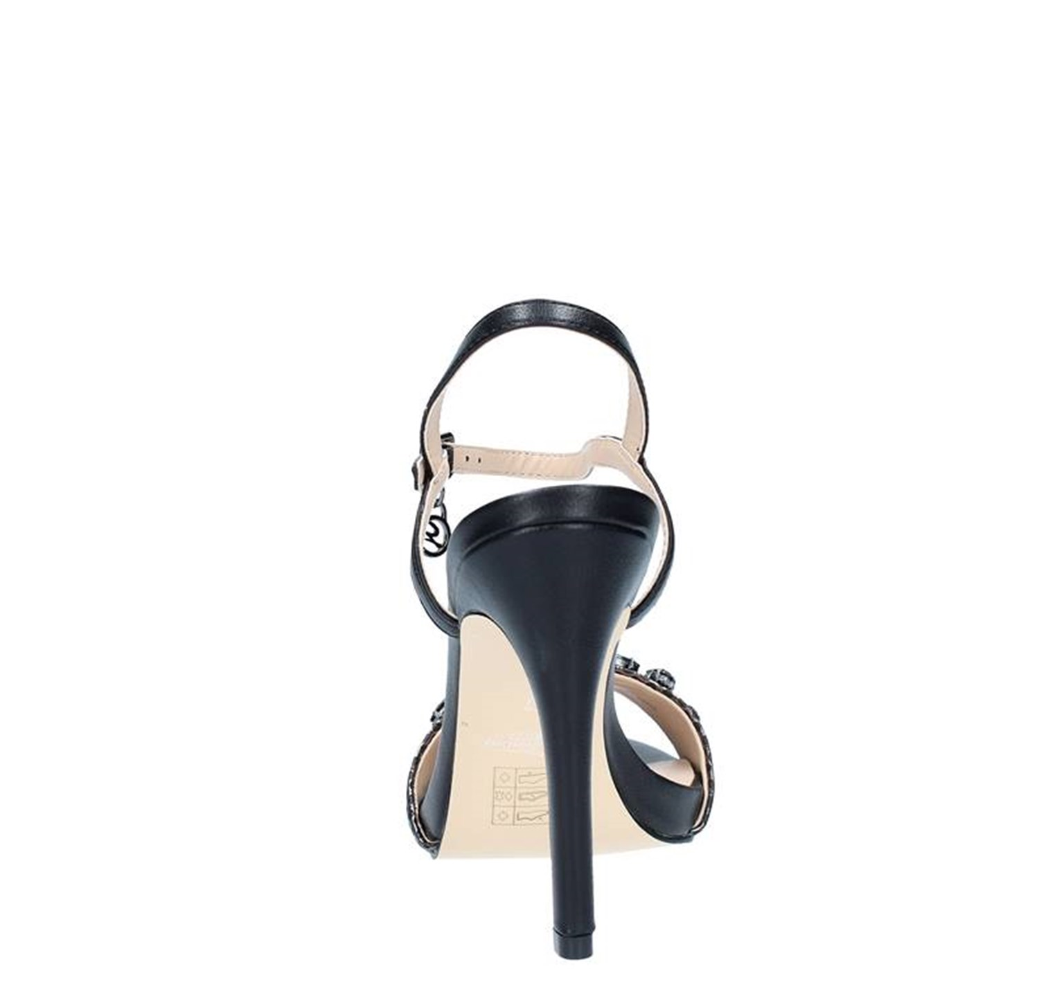 Gattinoni Roma Shoes Woman With heel BLACK 0655