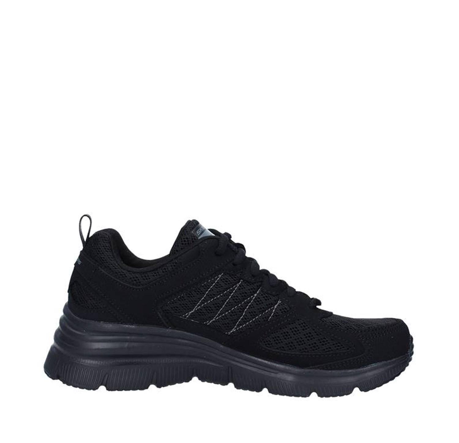 Skechers Shoes Woman Sneakers BLACK 12713
