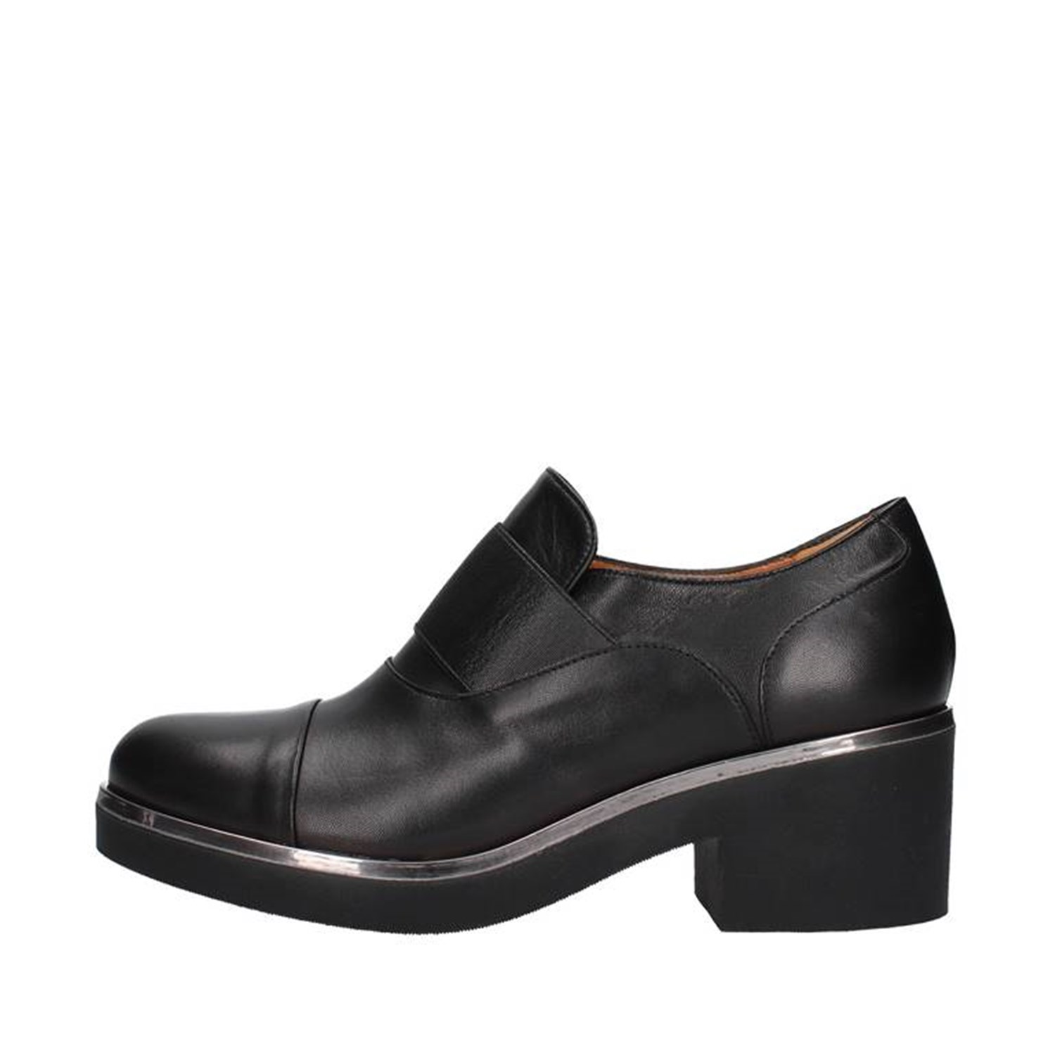 Mot-cle' Shoes Woman Loafers BLACK M555F
