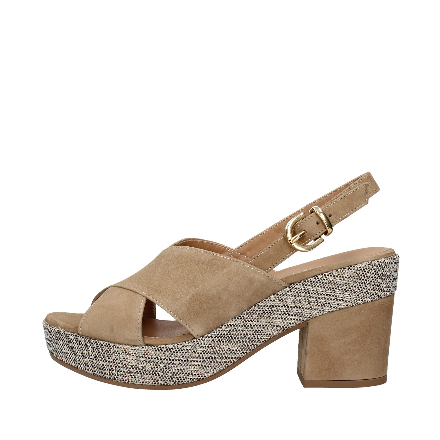 Tres Jolie Shoes Woman With heel ECRU 2663/LEA