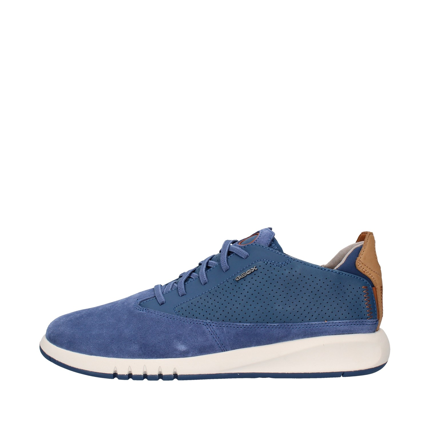 Geox Shoes Man low BLUE U927FA02243