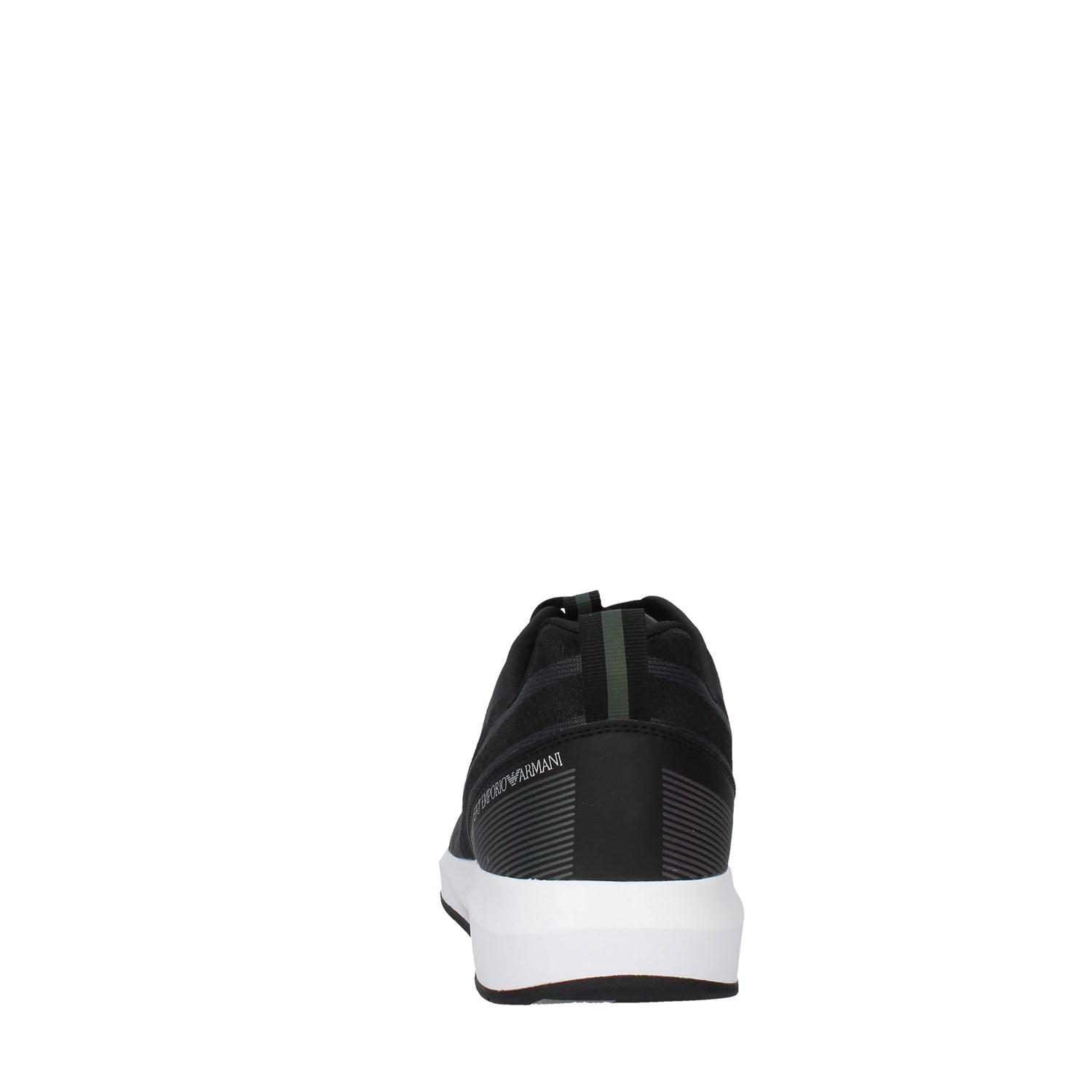 Ea7 Shoes Man low BLACK X8X031