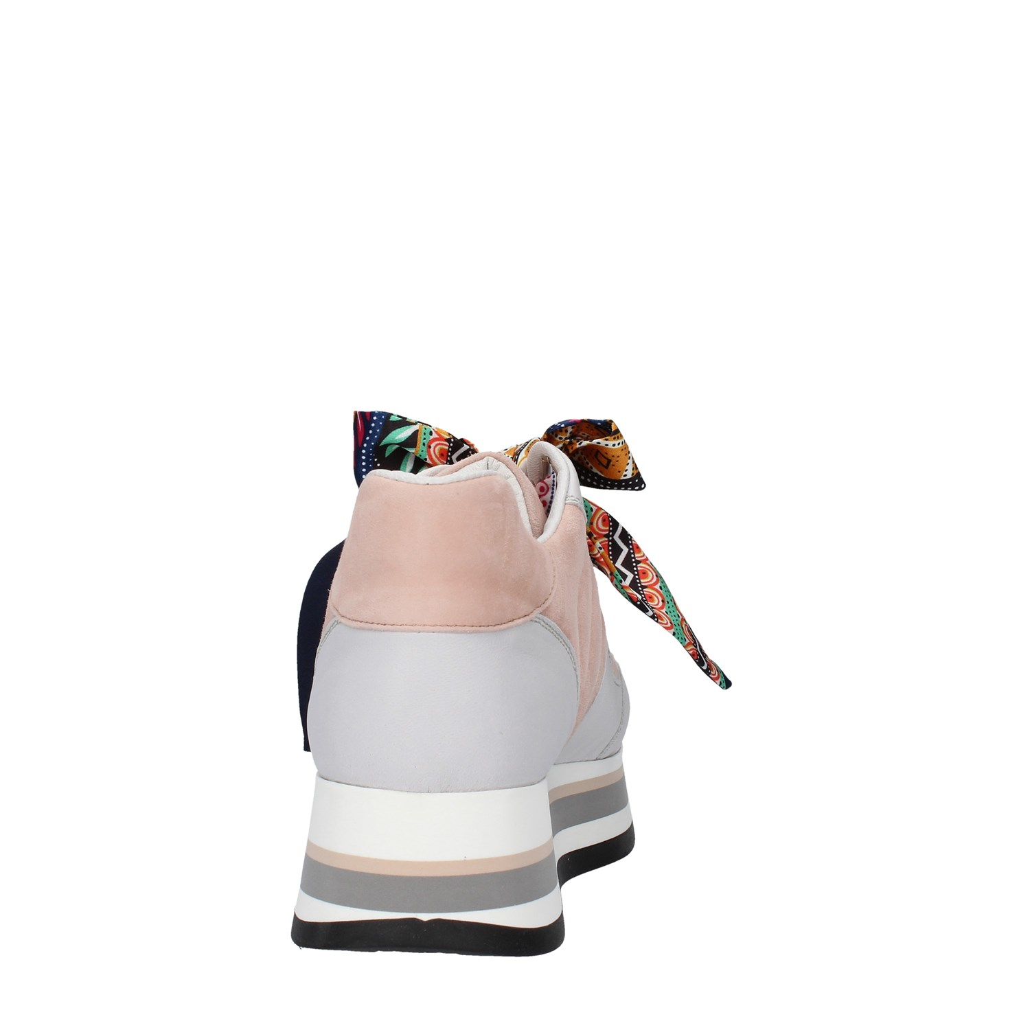 Triver Flight Shoes Woman With wedge WHITE 232-07L