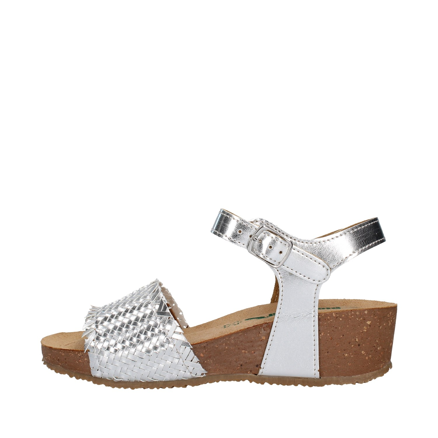 Bionatura Shoes Woman With wedge SILVER 28A257I