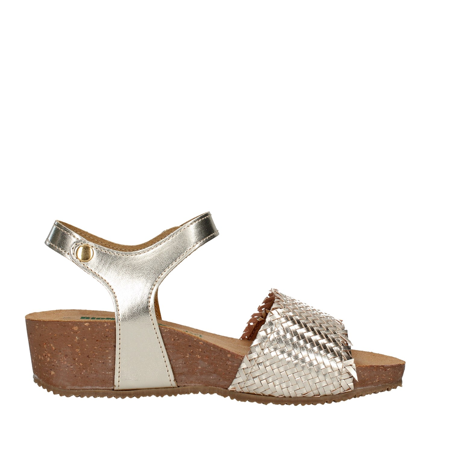 Bionatura Shoes Woman With wedge GOLD 28A257I