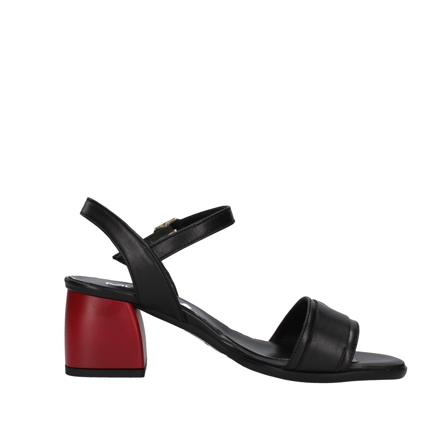 Mot-cle' Shoes Woman With heel BLACK DS0232C