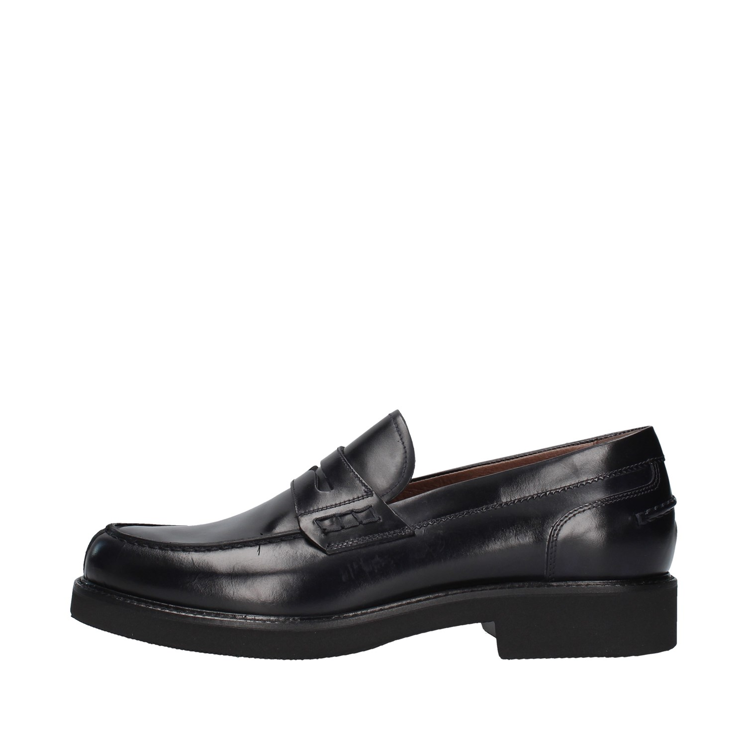 Nero Giardini Shoes Man Loafers BLUE A901140U