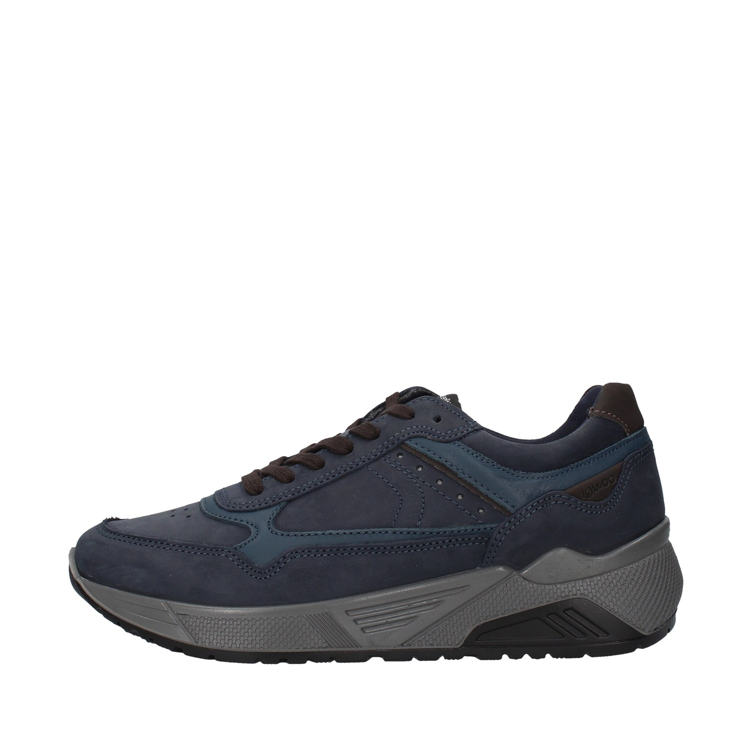 Igi&co Shoes Man Sneakers BLUE 4136322