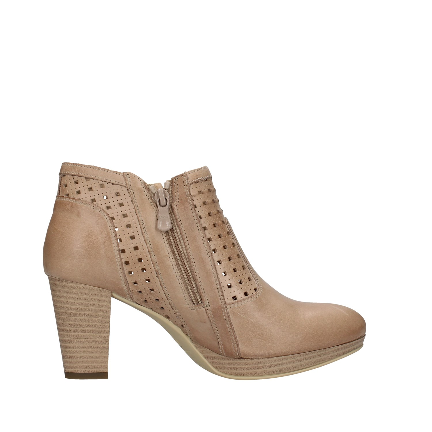 Nero Giardini Shoes Woman Ankle Boots BEIGE E010211D