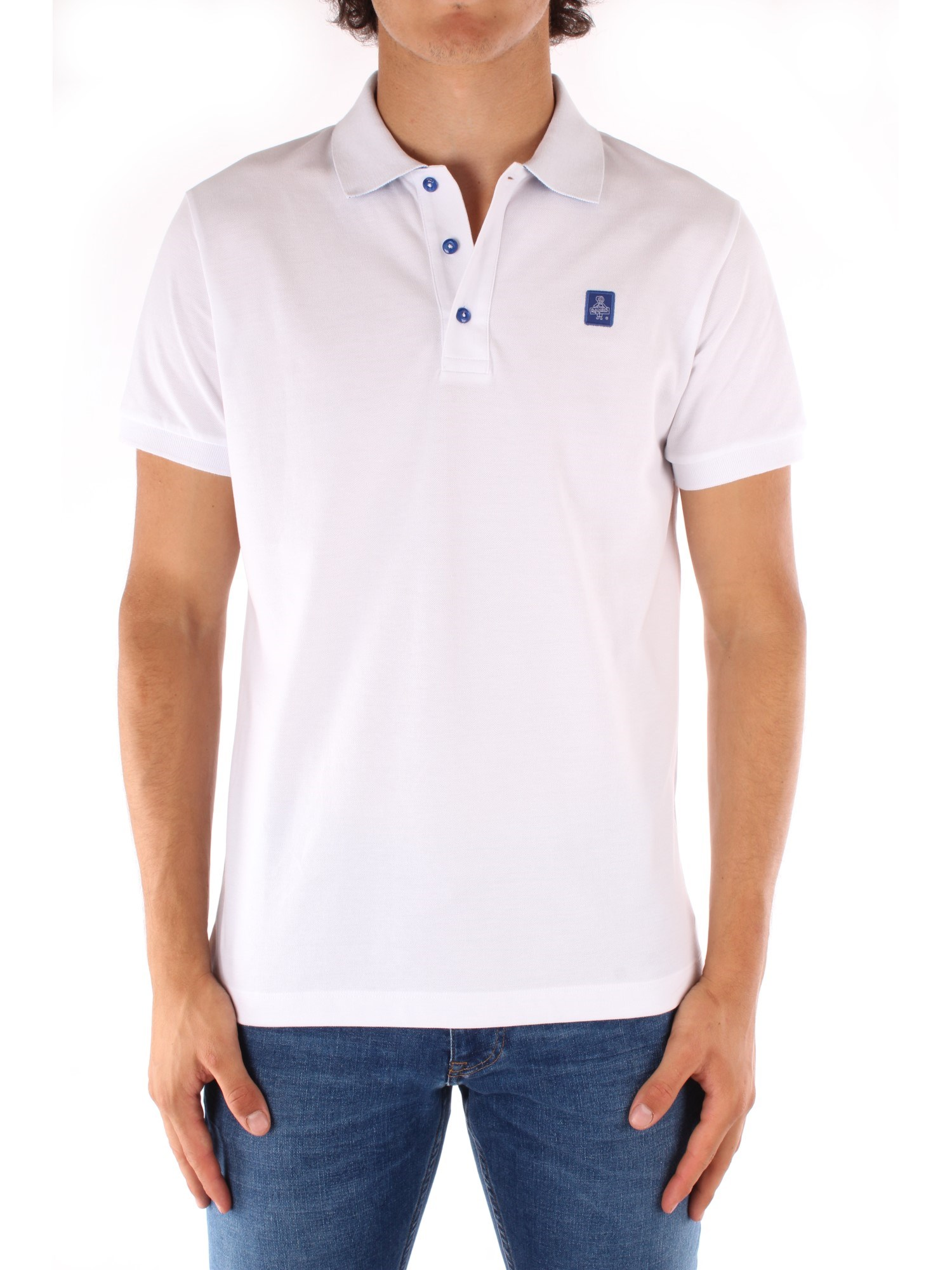 Refrigiwear Clothing Man Short sleeves WHITE PX9032-T19001
