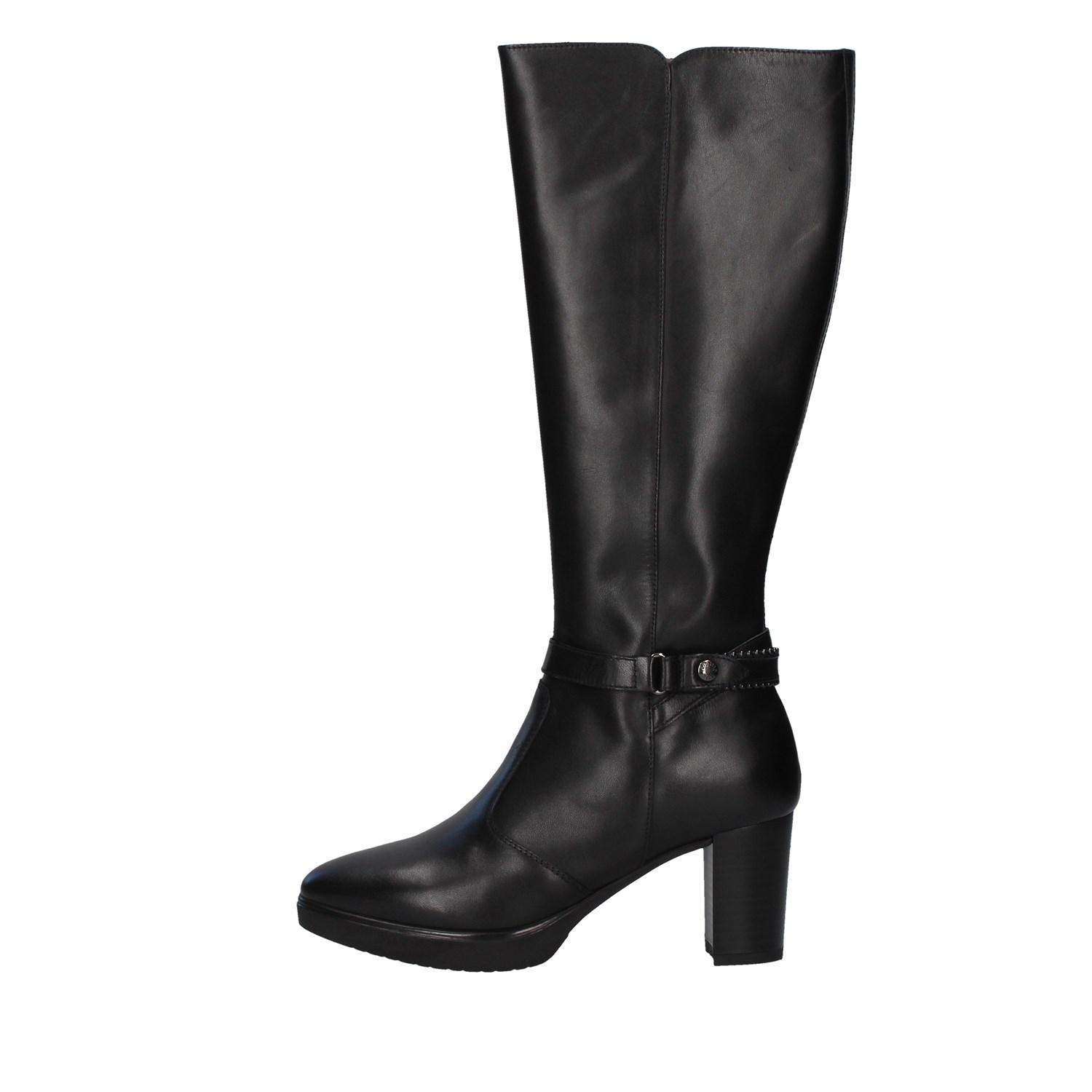 Nero Giardini Shoes Woman Under the knee BLACK I014000D