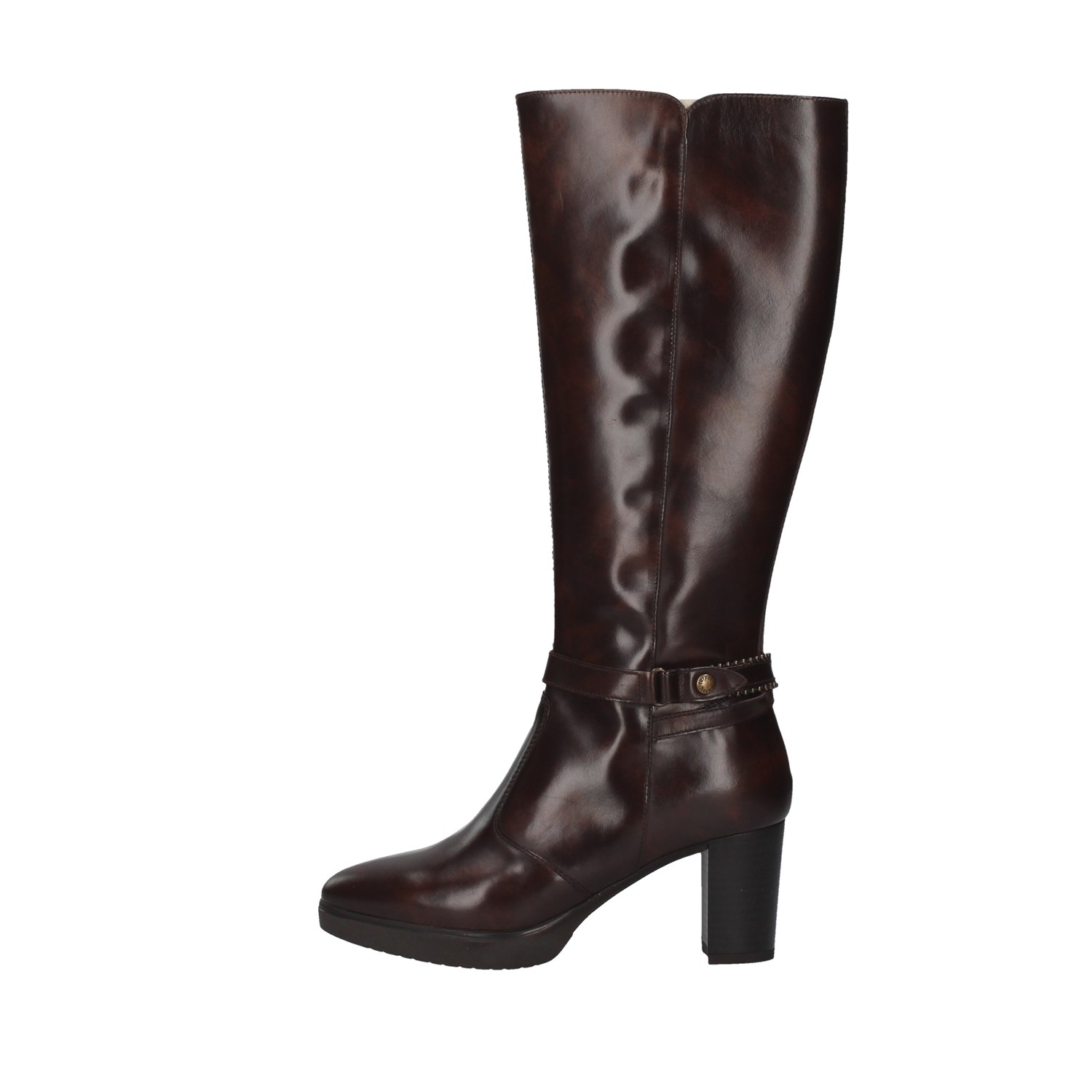 Nero Giardini Shoes Woman Under the knee BROWN I014000D