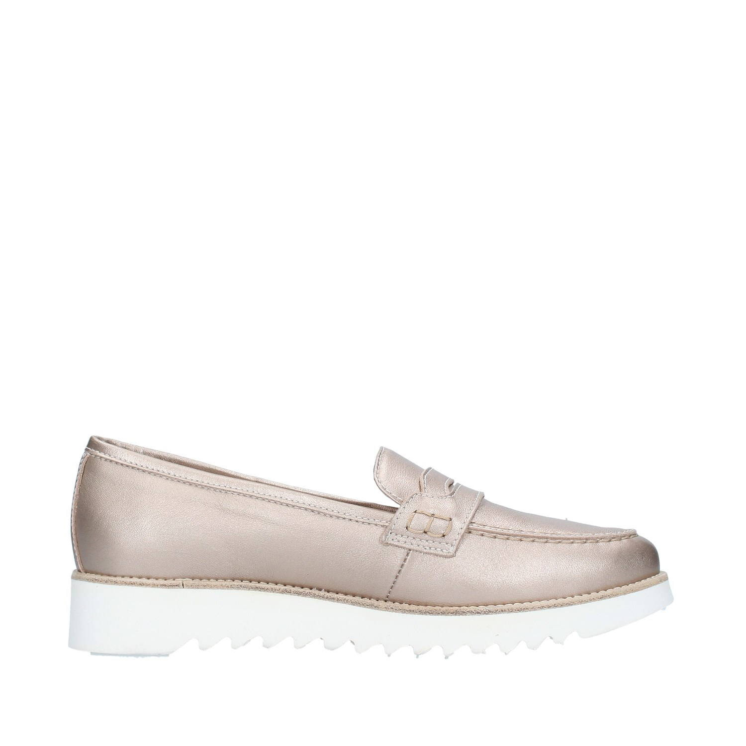 Nero Giardini Shoes Woman Loafers WHITE E115091D
