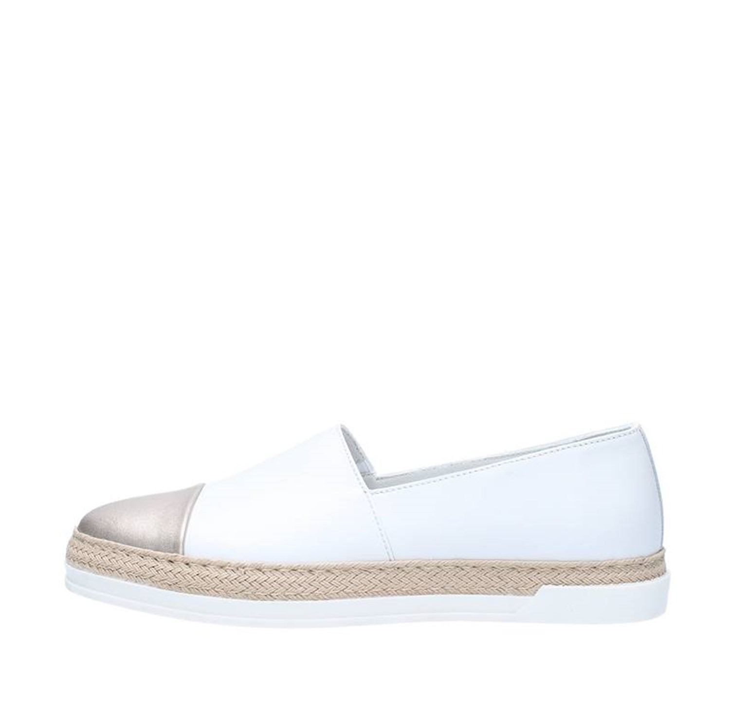 Triver Flight Shoes Woman Loafers WHITE 197-19B