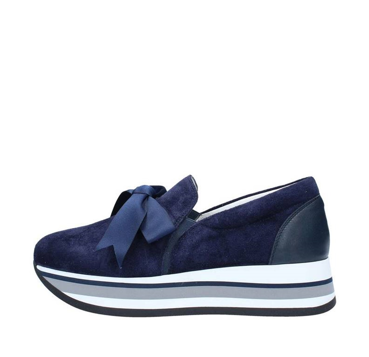 Triver Flight Shoes Woman With wedge BLUE 232-09C