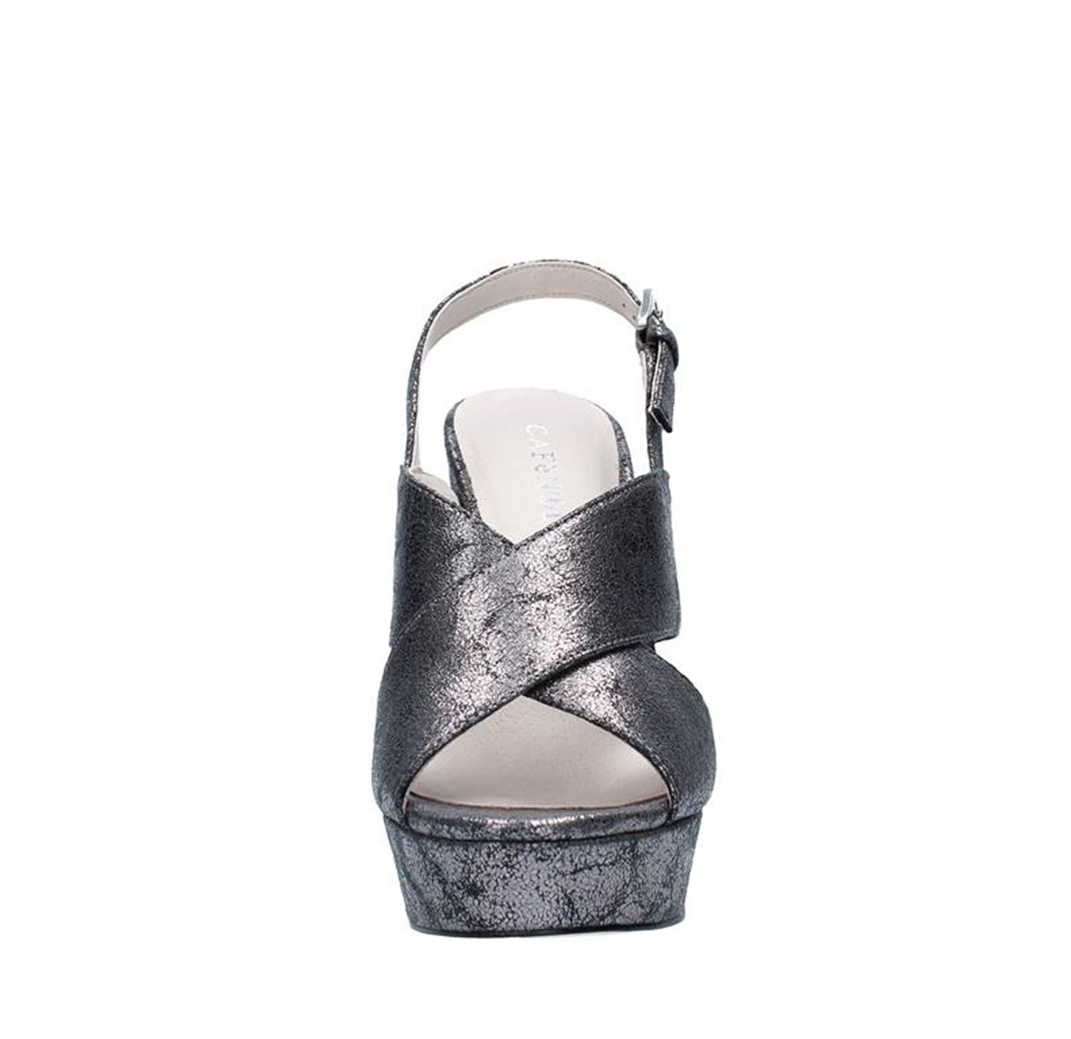 Cafe' Noir Shoes Woman With heel GREY NC922