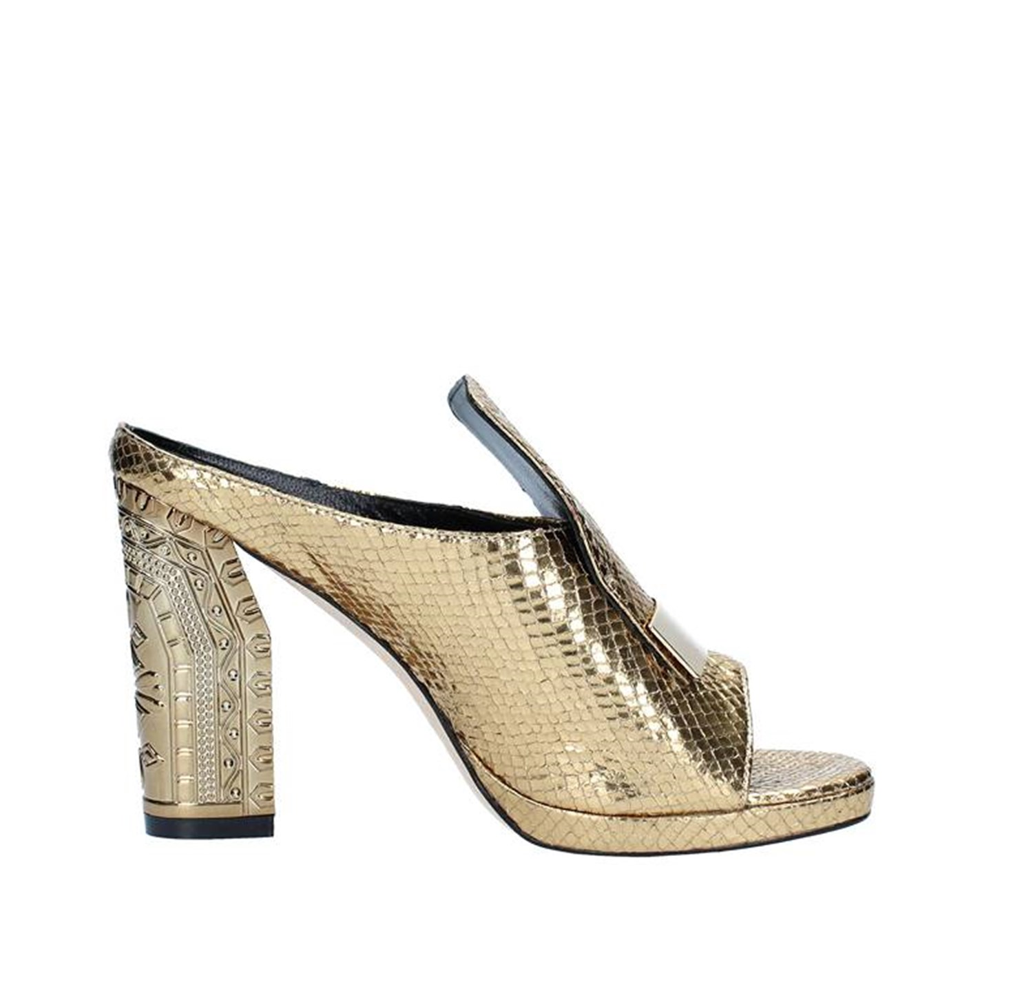 Norah Shoes Woman With heel YELLOW SPL18