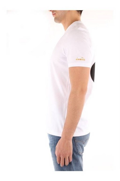 Diadora Short sleeve WHITE