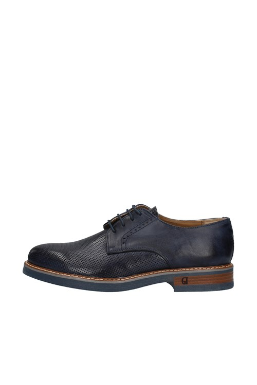 Gino Tagli Shoes With Laces BLUE