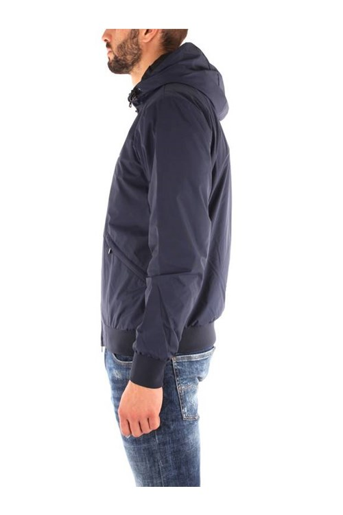 Ea7 Outerwear NAVY BLUE