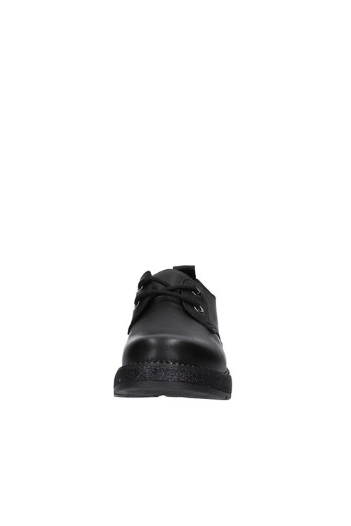 Cafe' Noir Shoes With Laces BLACK