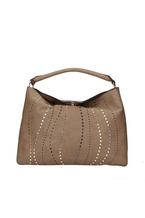 Cafe' Noir Shoulder Bags BEIGE