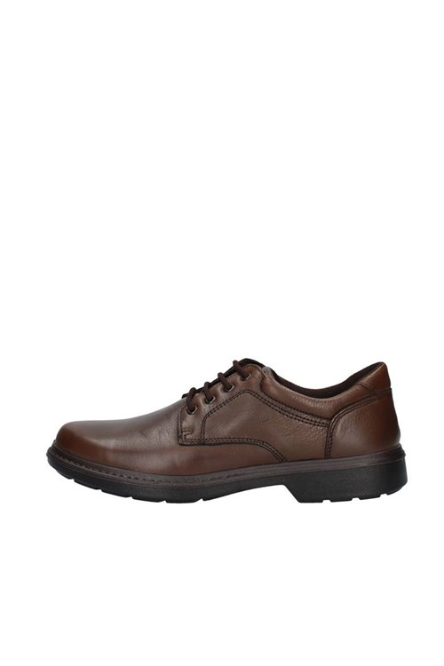 Enval Soft Shoes With Laces BROWN