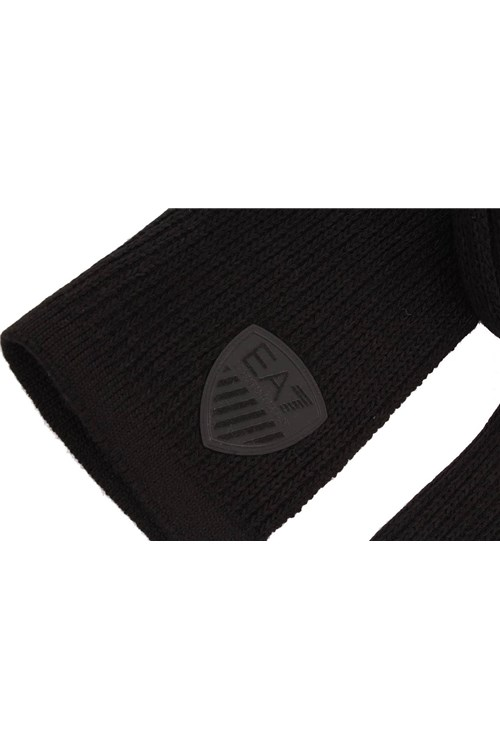 Ea7 Scarves BLACK