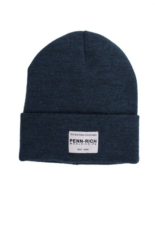 Penn-rich By Woolrich Beanie LIGHT BLUE