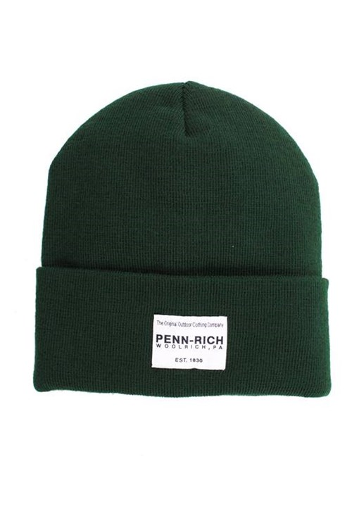 Penn-rich By Woolrich Beanie GREEN
