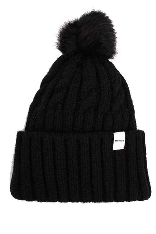 Penn-rich By Woolrich Beanie BLACK