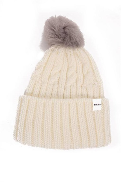 Penn-rich By Woolrich Beanie WHITE