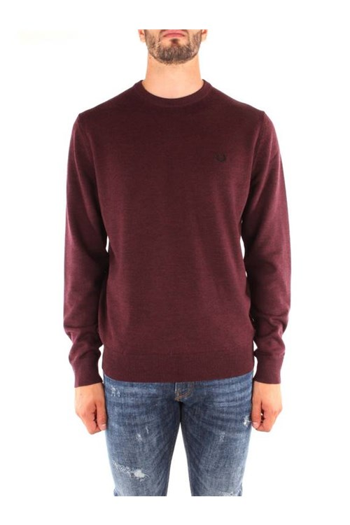 Fred Perry Knitwear BORDEAUX