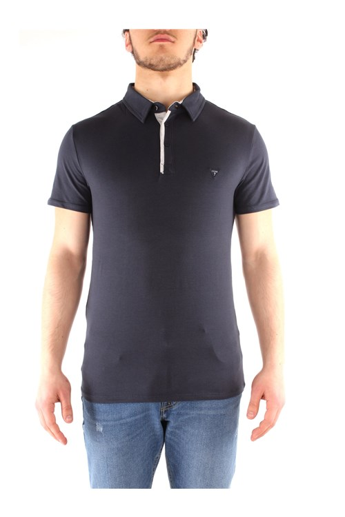 Guess Polo shirt NAVY BLUE