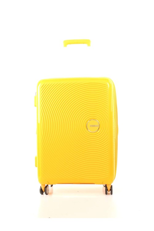 American Tourister Medium Luggage YELLOW