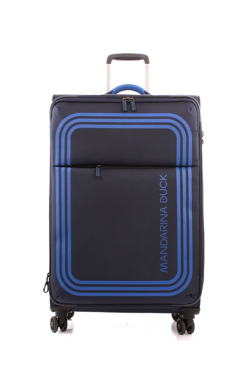 Mandarina Duck Big  Luggage BLUE
