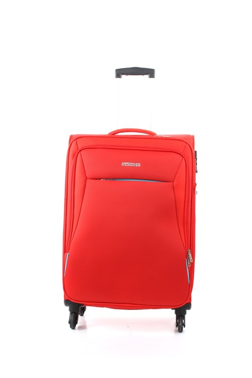 American Tourister Medium Luggage RED