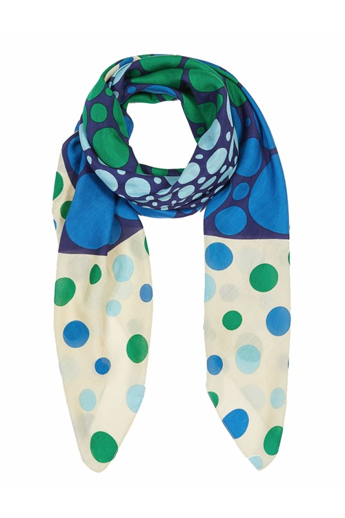 Marella Scarves And Foulards BLUE
