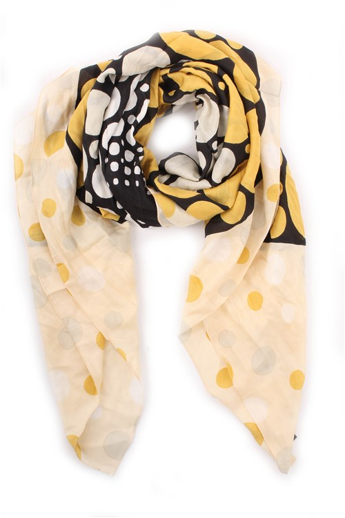 Marella Scarves And Foulards YELLOW