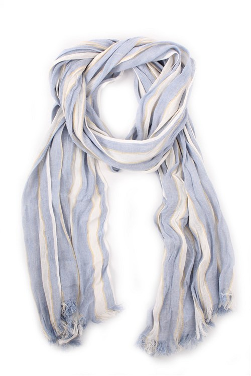 Iblues Scarves And Foulards LIGHT BLUE