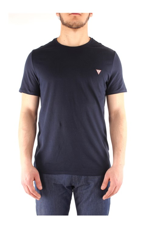 Guess  Short sleeve NAVY BLUE