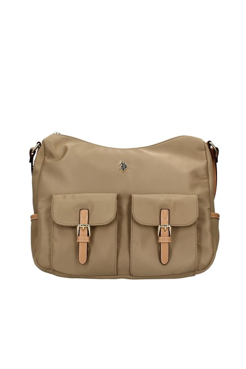 Us Polo Travel Shoulder Bags BEIGE
