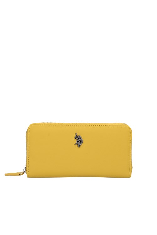 Us Polo Travel Women's wallets YELLOW