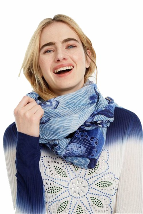 Desigual Scarves And Foulards WHITE