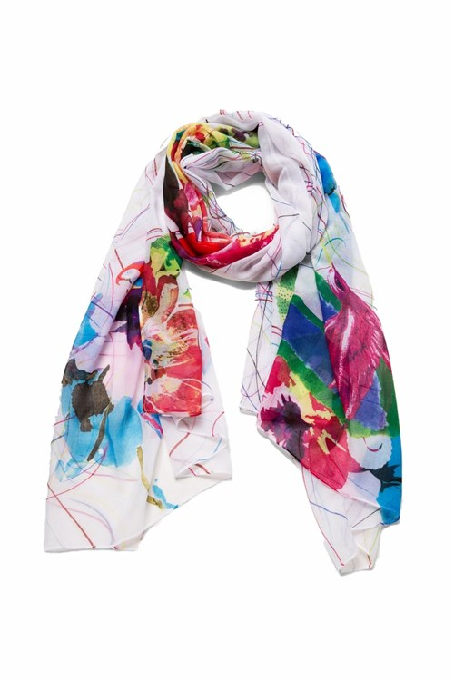 Desigual Scarves And Foulards BEIGE