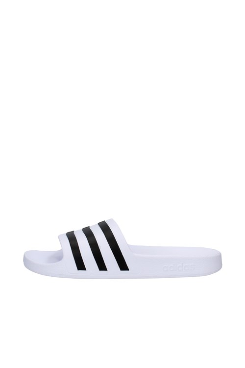 Adidas slippers WHITE