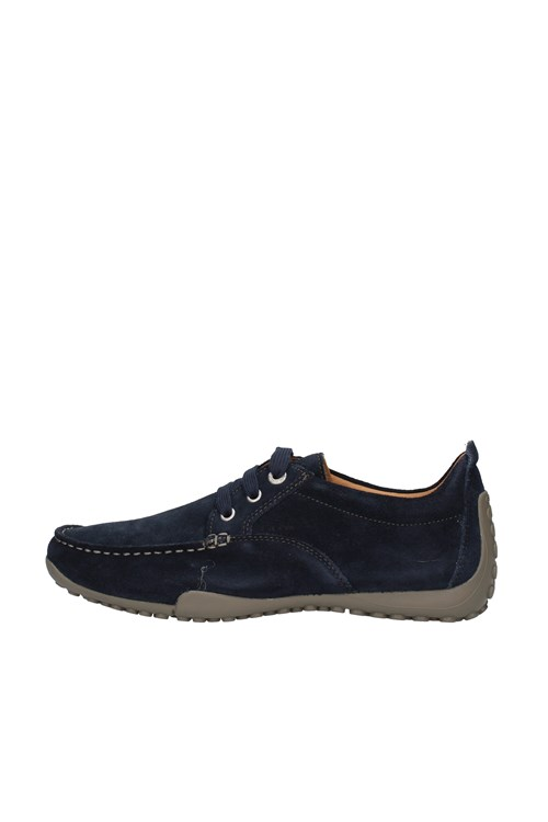 Geox Shoes With Laces NAVY BLUE