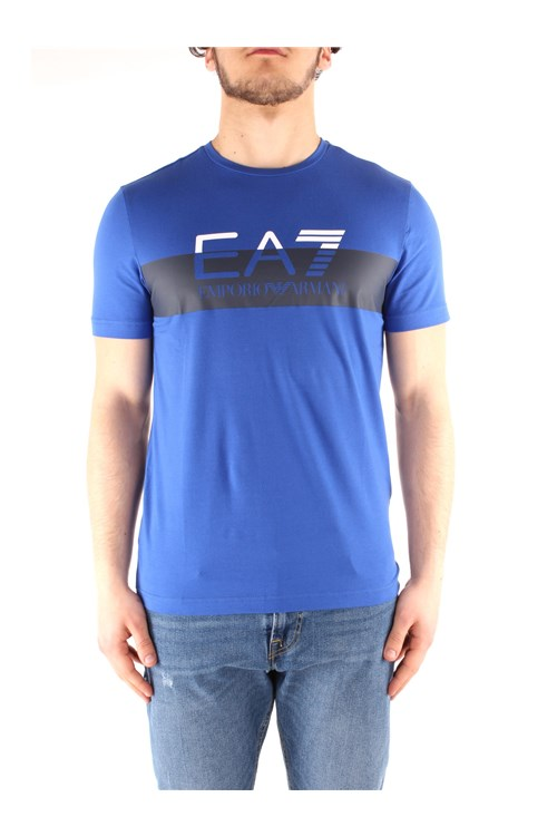 Ea7 T-shirt LIGHT BLUE