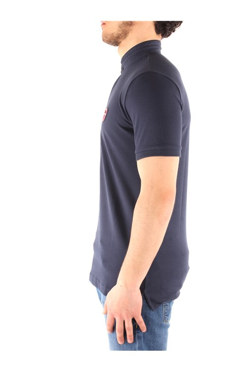 Ea7 Short sleeves NAVY BLUE