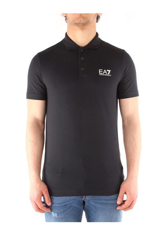 Ea7 Short sleeves BLUE